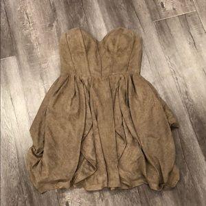 Seduce Strapless Corset Dress